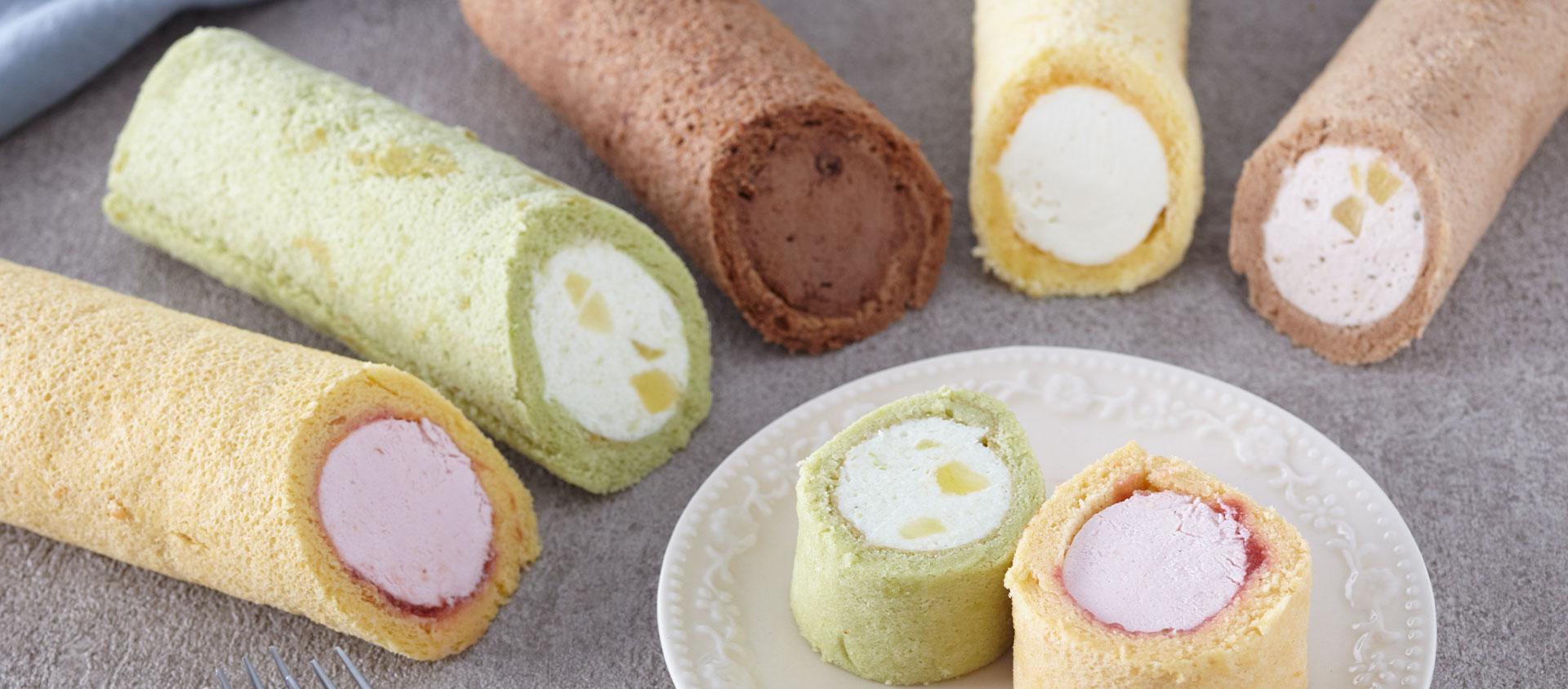 豆乳ロールケーキ