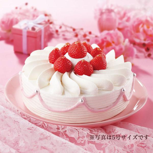 苺ホールショートケーキ