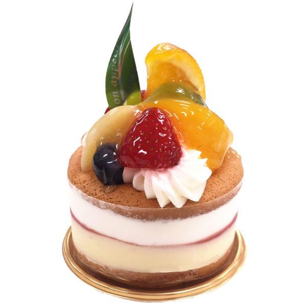 フルーツのパンケーキ